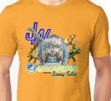 JW Gyrosphere w Jimmy + dilopho spit Unisex T-Shirt