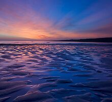 Sky on Fire, St Andrews, Fife by Michael Hunter
