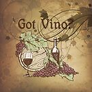 Got Vino Wine and Grapes by SpiceTree