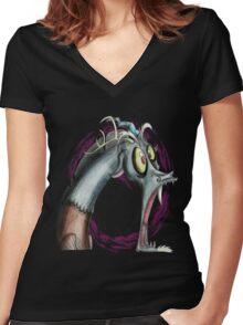 Discord U WOT M8 Women's Fitted V-Neck T-Shirt