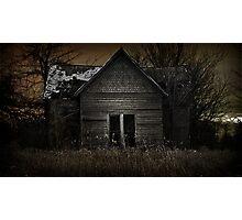 Darkness Taking Dawn Photographic Print