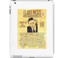 Elliot Ness  iPad Case/Skin
