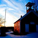 Old Red Schoolhouse by Trenton Purdy