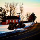 Schoolhouse Drive by Trenton Purdy