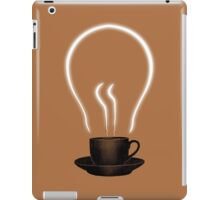 The power of coffee iPad Case/Skin