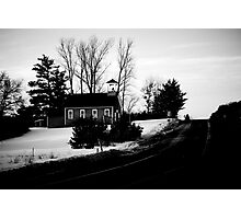 Schoolhouse Drive Photographic Print