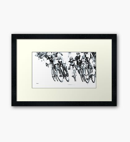 The Convergence  Framed Print