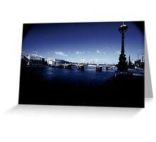 Lambeth Bridge, London Greeting Card
