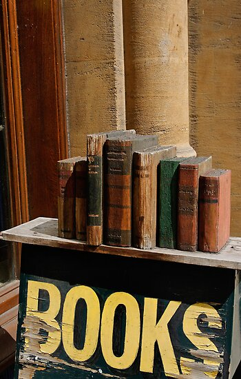 Old bookstore, Oxford, England by buttonpresser