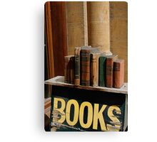 Old bookstore, Oxford, England Canvas Print