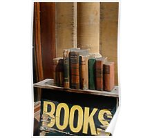 Old bookstore, Oxford, England Poster