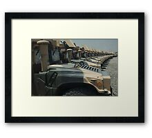 One billion Dollars in Hummves Framed Print