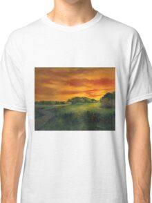 'The Little Sunset Painting' Classic T-Shirt
