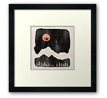 Hunter's Moon... Framed Print