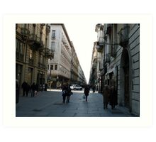 Via Garibaldi (Torino) Art Print