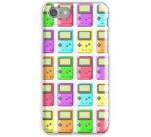 Game Boy Color Pixel Art iPhone Case/Skin