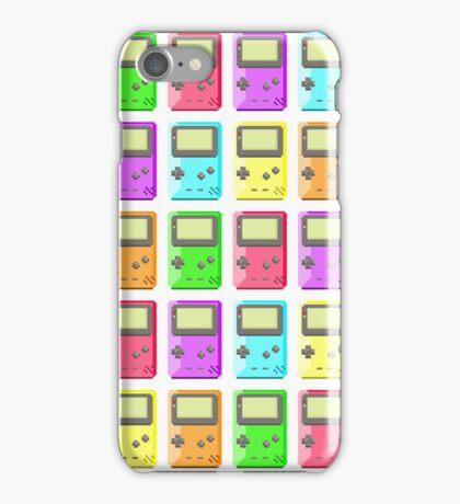 Game Boy Color Pixel Art iPhone Case/Skin