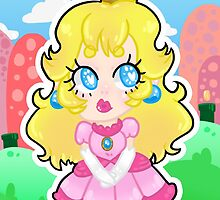 Print: Princess Peach by Mia ♡ Restrepo