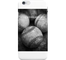 Babe Ruth Quote iPhone Case/Skin
