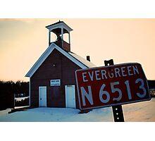 Evergreen N 6513 Photographic Print