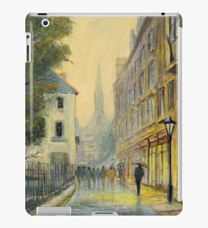 Rainy Day In Oxford England iPad Case/Skin