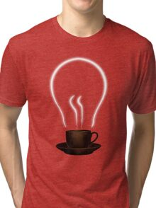 The power of coffee Tri-blend T-Shirt
