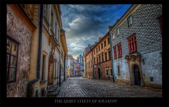 Krakow Streets in Colors - HDR by capturedjourney