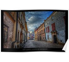 Krakow Streets in Colors - HDR Poster