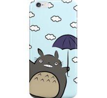 Totoro and his Umbrella iPhone Case/Skin