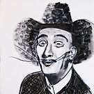 Cowboy Dali by Sonny  Williams