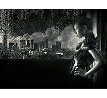 SIN-Cityscape | Self Portrait Photographic Print