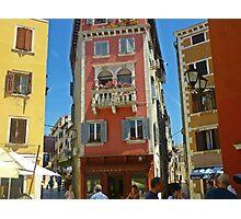 The Pastel Colours of Rovinj Photographic Print