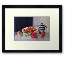 The coffee pot Framed Print