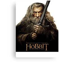 The Hobbit - Gandalf Canvas Print