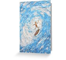 WIPE OUT- BELLS BEACH Greeting Card