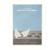 Der Himmel uber Berlin  Wings of Desire Art Print