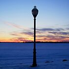 Early Spring Sunset -- Lake Cadillac by Jess Mo