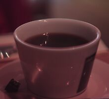 Vintage Mug in a Cafe by ClydeMilling