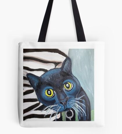 Tux the Shelter Cat Tote Bag