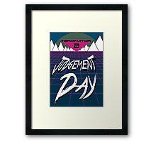 T2: Judgement Day Framed Print