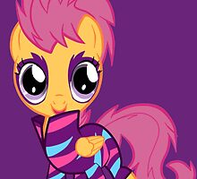 My Little Pony Cutie Mark Crusader Scootaloo by MokaMizore97
