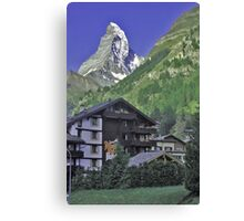 The Matterhorn, Zermatt, Switzerland. Canvas Print