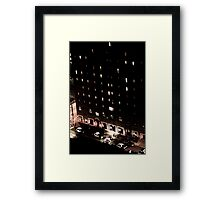 Life on East 12th and Chester Framed Print