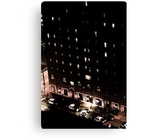 Life on East 12th and Chester Canvas Print