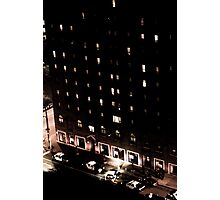 Life on East 12th and Chester Photographic Print
