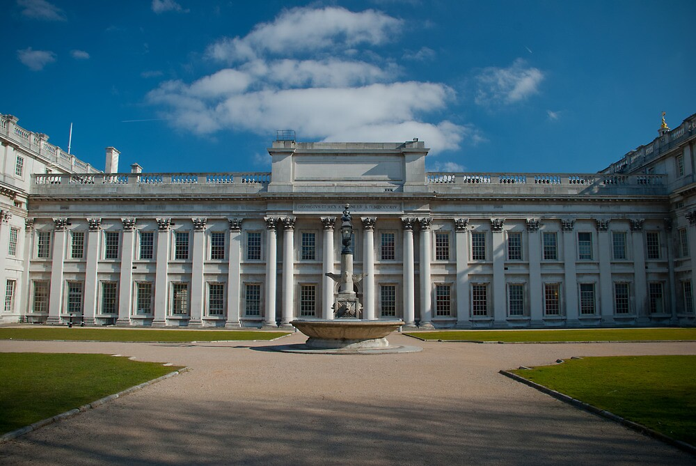 Old Royal Navy College Study - Three by AjayP