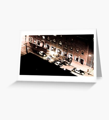 Chester Avenue Greeting Card
