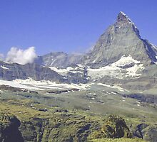 Matterhorn, Zermatt, Switzerland by Monica Engeler