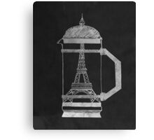 French Press... Canvas Print