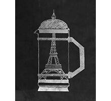 French Press... Photographic Print